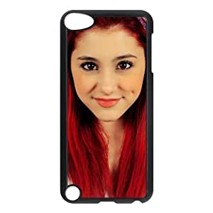 Customize American Famous Singer Ariana Grande Back For Iphone 5/5S Case Cover JNIPOD5-1314