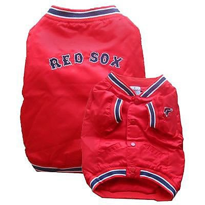 Sporty K9 Boston Red Sox Dugout Dog Jacket, X-Large ()