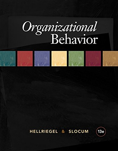 Organizational Behavior (Available Titles CourseMate)
