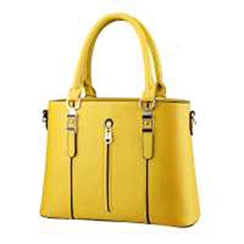 Yellow Zhi Wu Elaborazione Di Signore Unità Bag Borse Spalla Messenger vzwzCPqR