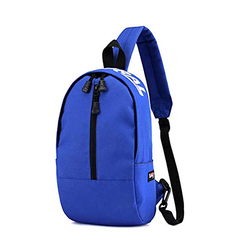 and Backpacks body Chest Shoulder Lightweight Cross Multipurpose Blue for Daypacks Women Men Defeng Pouch Canvas Bag Sport H0AA61
