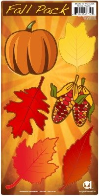 Autumn Leaves Magnets - Autumn Leaf Magnet Pack