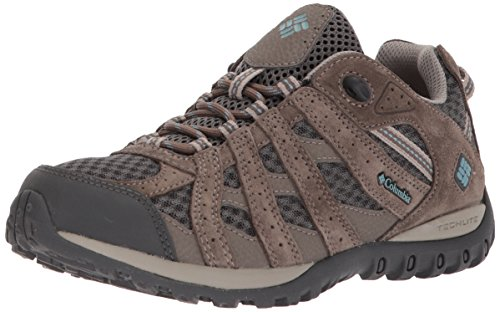 Columbia Women's Redmond Hiking Boot, Shark, Storm, 9 Regular US by Columbia