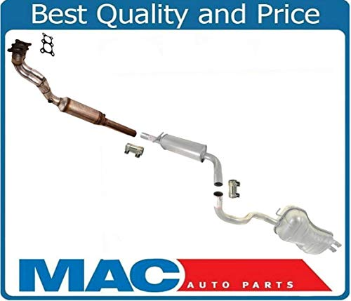 00 vw beetle exhaust system - 6