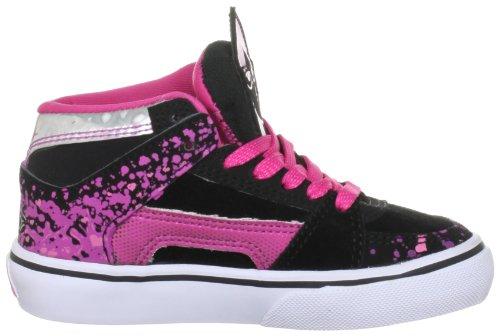 Solaria Publications Kids Rvm Vulc - Zapatillas de skateboarding negro/rosa