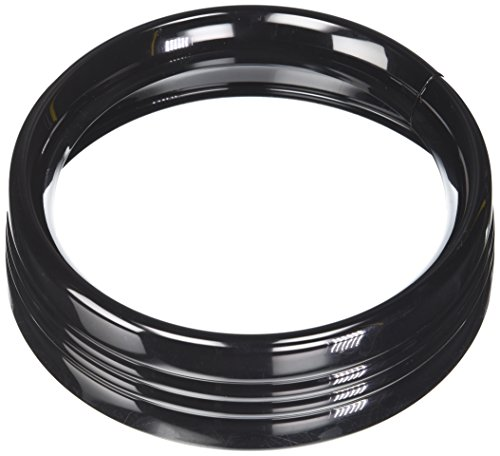 Kuryakyn 7276 Gloss Black 7'' Headlamp Trim Ring by Kuryakyn