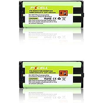 TM 3X 3PCS 3 PACK For PANASONIC HHR-P104 Cordless Phone Ni-MH Battery MegaPower