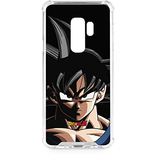 promo code df477 78ea5 Amazon.com: Skinit Goku Portrait Galaxy S9 Plus Clear Case - Dragon ...