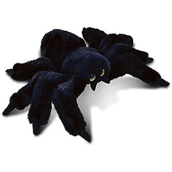 Amazon Com Puzzled Black Spider Plush 7 Inch Collectible