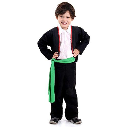 Portugal Masculino Infantil 38819-M Sulamericana Fantasias M 6/8 Anos