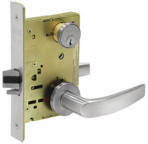 Locks Mortise Sargent (Sargent 8204 LNB 26D Mortise Lock, 9.25