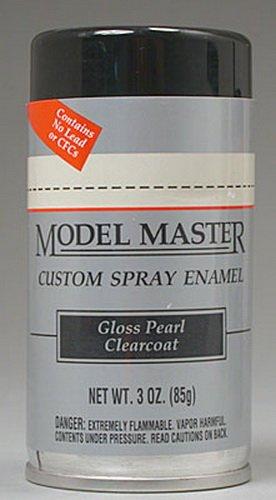 - Testors Model Master Automotive Enamel Gloss Pearl Clear CoatSpray