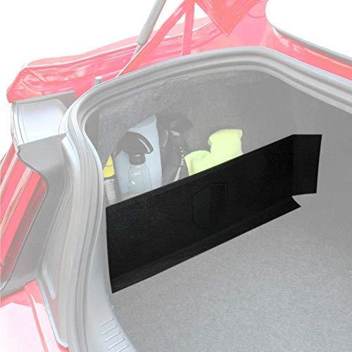 RED SHIELD Auto Trunk Organizer for Car, SUV, or Minivan - 22.4 x 7.08 inches [Black/2PK]
