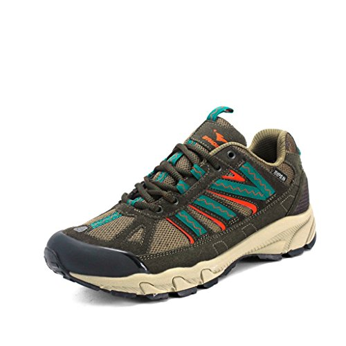 2017 Herbst Outdoor Sneakers Paare Schuhe Low-Top Komfortable Wanderschuhe 38-44 Dark green
