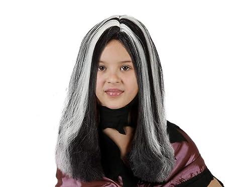 Peluca de bruja para niña ideal para Halloween: Amazon.es: Juguetes y juegos