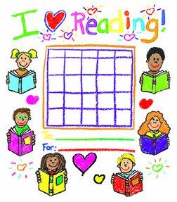 Carson Dellosa Reading Kid-Drawn Incentive Charts (6137) - Kid Drawn Charts