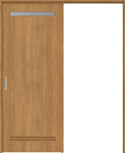 ラシッサS 上吊引戸 片引戸標準 ASUK-LYA 1320J 錠付 W:1,324mm × H:2,023mm ノンケーシング 本体/枠色:プレシャスホワイト(YY) 勝手:左勝手 枠種類:180mm幅(ノンケーシング枠) 引手(シャインニッケル) 床見切り:なし 機能:ブレーキ プッシュ錠:表示錠(シャインニッケル) 錠加工位置:標準位置 LIXIL リクシル TOSTEM トステム