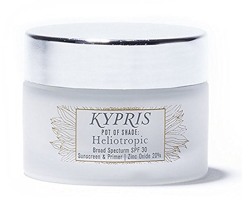 KYPRIS - 100% Natural / Vegan Pot of Shade: Heliotropic Sunscreen (SPF 30, .91 oz / 27 ml)