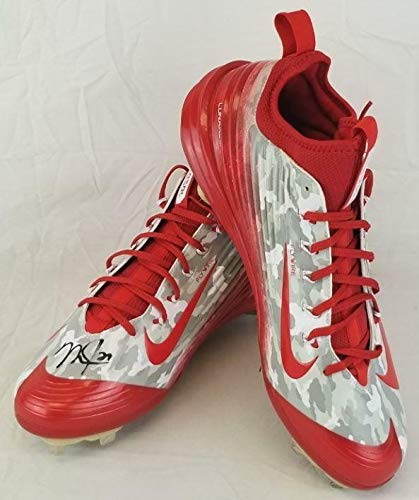 93a1f02c765d0 Mike Trout Signed Autographed Nike Game Model Cleats MLB.COM ...