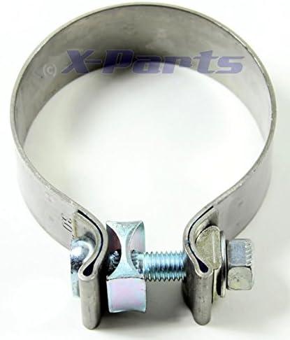 Collier d/échappement 76/mm 3/Collier de serrage Tuyau d/échappement Schelle 76 80/mm en acier inoxydable V2/A neuf