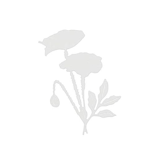 Shangwelluk Flor de Corte de Metal Muere Acero al Carbono en Relieve Troqueles de Corte Plantillas Molde Conjunto para Bricolaje álbum de Papel Tarjeta: ...
