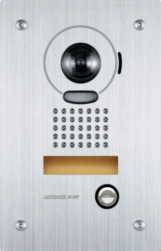 Aiphone-JK-DVF-Vandal-Resistant-Flush-Mount-AudioVideo-Door-Station-for-JK-Series-Intercom-System