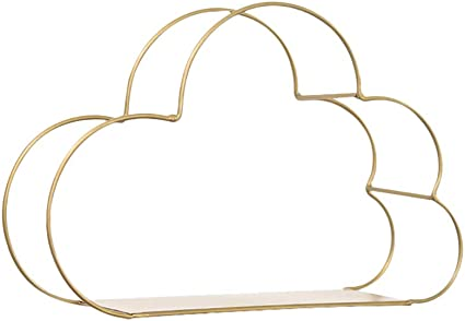 Estantes de almacenamiento de hierro en forma de nube ...