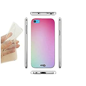 FUNDA CARCASA SLIM OMBRE COLOR PARA IPHONE 5C TPU