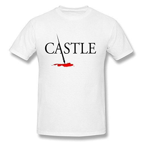 Men's Castle Tv Show Logo T-shirt XS