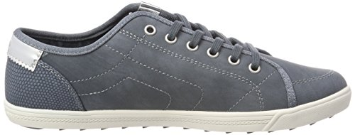 s.Oliver 23631, Sneakers Basses Femme Bleu (Denim)