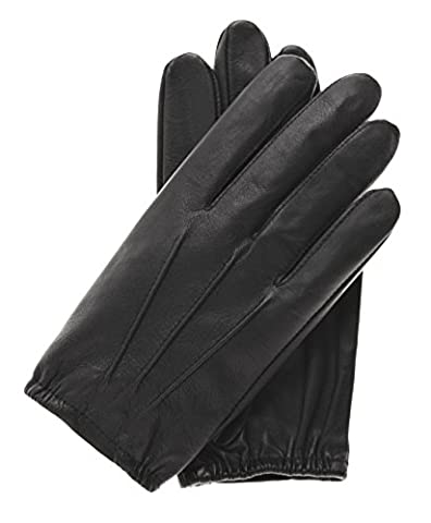 Pratt and Hart Men's Thin Unlined Police Search Duty Gloves Size M Color Black (Search Del)