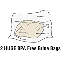 Brining Bag, Extra Large Brine Bag BPA Free Heavy Duty Gusseted Resealable Bag for Turkey