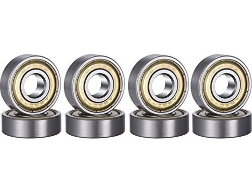 VSI Ball Bearing 608ZZ 8mm x 22mm x 7mm Inline Skateboard Speed Skate Roller Bearing Longboard (8 PCS)