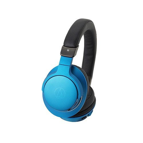 Audio-technica Bluetooth headphones(Turquoise blue) ATH-AR5BLT BL [hi-res sound source corresponding] [with microphone]