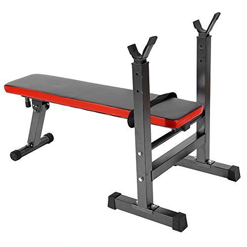 GOTOTOP Adjustable Weight Benches-Folding Home Gym Exercise Fitness Weight Lifting Press Bench For Strength Exercise Fitness Body Workout by GOTOTOP