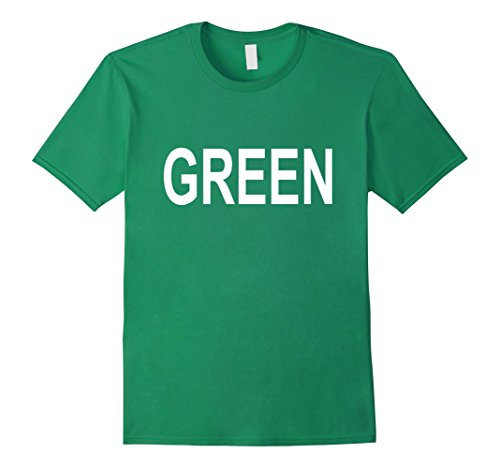 Mens Green with Envy Couples Halloween Costume T-Shirt XL Kelly (Quick And Easy Couples Halloween Costumes)