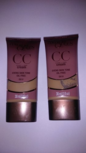 CoverGirl Queen Collection CC Cream - Amber Glow Q610 (Pack of 2)