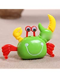 Retro Funny Hand Wind-up Walking Crab Toy for Kids(Random Color)