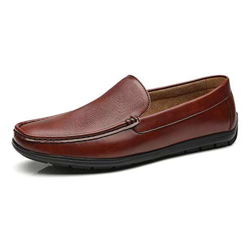 Moccasins Slip on Penny Loafer Shoes Classic Comfortable Casual Driving Shoes for Men ()