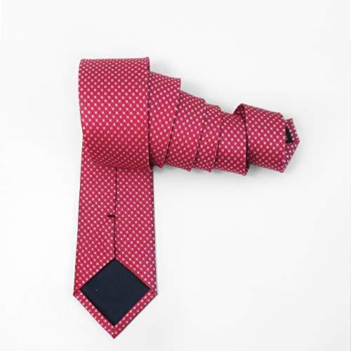 Amazon.com : WYJW Corbatas de Tela escocesa Rojas para ...