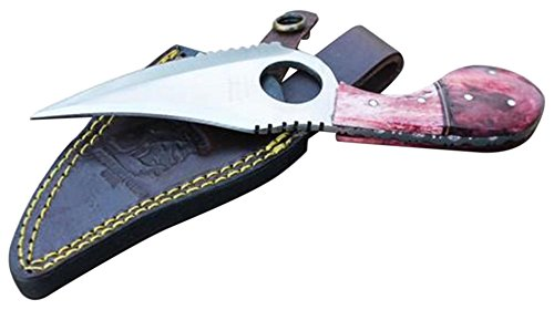 New Bone Collector BC 793 3 Colors Fixed Blade Skinning Knife with Leather Sheath 7-Inch Overall Pink Black Green