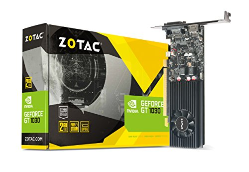 Zotac ZT-P10300A-10L NVIDIA GeForce GT 1030 2GB GDDR5 DVI/HDMI PCI-Express Video Card by ZOTAC