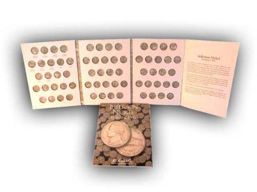 (Jefferson Nickels 1996-2002 HE Harris Coin Folder )