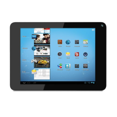 Coby Kyros 8-Inch Android 4.0 4 GB Internet Tablet 4:3 Capacitive Multi-Touchscreen with Built-In Camera, Black MID8048-4 (Kyros Android Tablet Coby)