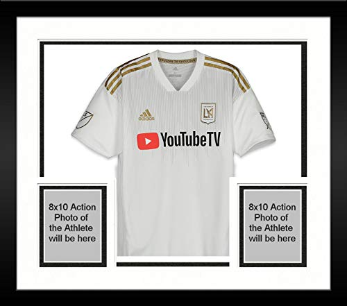 88a8eacf417 Framed Eduard Atuesta Los Angeles FC Autographed Player-Issued White  20  Jersey vs. Colorado Rapids on October 6