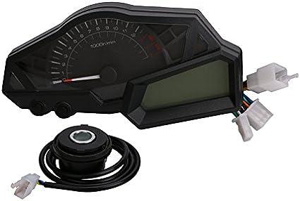 Motorcycle OEM Gauges Cluster Speedometer Speedo Tachometer Instrument For KAWASAKI NINJA 300 EX300A 2013-2015