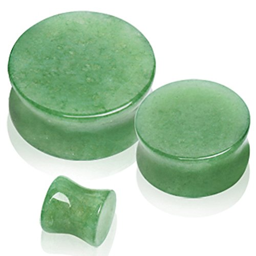 Fbm Saddle (Natural Jade Semi-Precious Stone Saddle Plug)