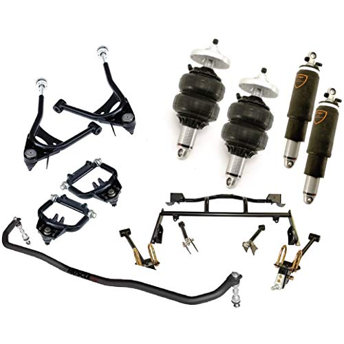 NEW RIDETECH AIR SUSPENSION SYSTEM,HQ SERIES SHOCKWAVES,TRUTURN STEERING,SPINDLES,FRONT MUSCLEBAR,STRONGARMS,BOLT-ON 4-LINK,COMPATIBLE WITH 1967-1970 FORD MUSTANG