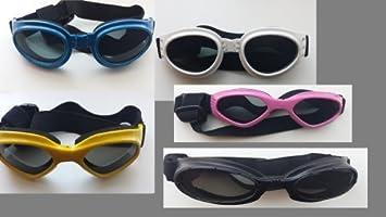 Nouvelle hundebrille, lunettes de soleil pour chien jaune