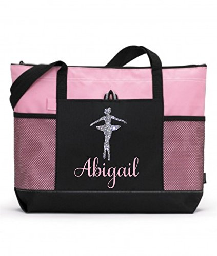 Pink Girls Dance Bag by Tommy Rose Lane